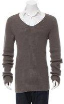 Rick Owens Merino Wool Longline Sweater