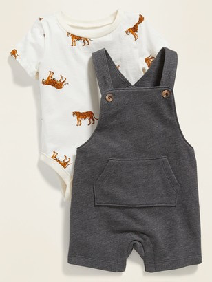 Old Navy Bodysuit & Overalls Set for Baby