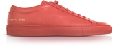 Common Projects Original Achilles Low Red Leather Men's Sneaker