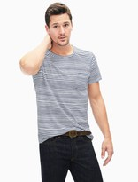 Splendid Wave Stripe Short Sleeve Crew