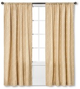 Threshold Greek Key Curtain Panel