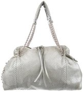 Bottega Veneta Snakeskin Shoulder Bag