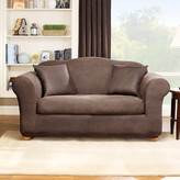 Sure Fit Stretch Leather Loveseat Slipcover