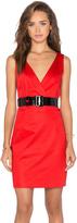 Love Moschino V Neck Mini Dress