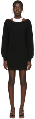 Alexander Wang Black Bi-Layer Dress