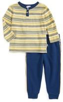 Splendid Infant Boy's Stripe Henley & Pants Set