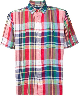 Polo Ralph Lauren plaid shirt