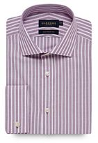 Osborne Big And Tall Lilac Striped Tailored Shirt