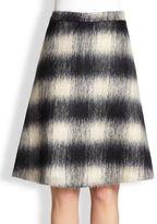 A.L.C. Ree Plaid A-Line Skirt