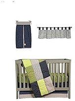 Trend Lab Perfectly Preppy 5 PC Crib Bedding Set by