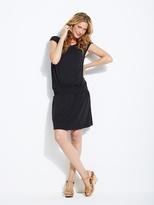 Adaptable Maternity & Nursing Smocking Dress - black, Maternity | Vertbaudet