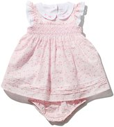 M&Co Ditsy print smock dress and knickers set