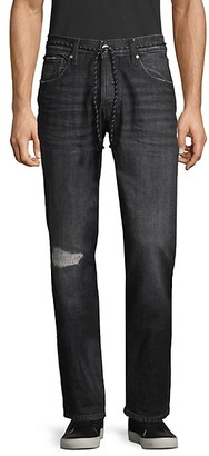 Hudson Blake Faded Slim-Fit Jeans
