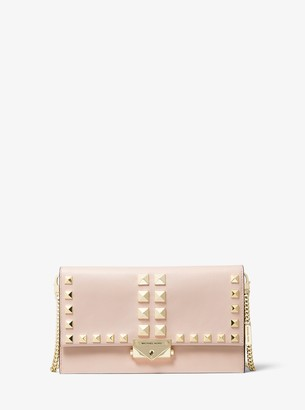 MICHAEL Michael Kors Cece Large Studded Leather Convertible Crossbody Bag