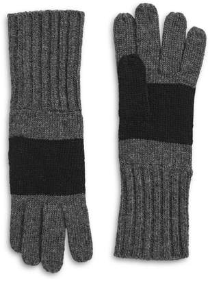 HBC Stripes Silverlake Wool-Blend Gloves