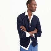 J.Crew French linen cardigan sweater