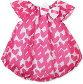 Baby Essentials Heart-Print Bubble Romper, Baby Girls (0-24 months)