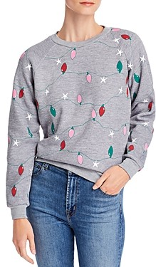 Wildfox Couture Fiona Twinkle Lights Sweatshirt
