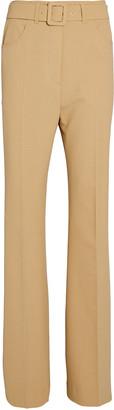 Nanushka Clara Belted High-Rise Trousers