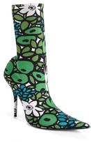 Balenciaga Women's Pointy Toe Mid Boot