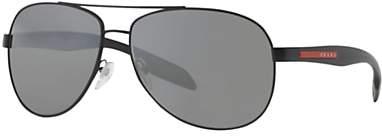 Prada Linea Rossa PS 53PS Sunglasses, Black