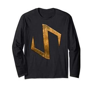 Marvel The War of The Realms Svartalfheim Gold Icon Long Sleeve T-Shirt