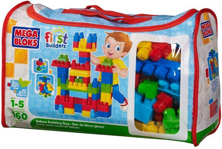 Mega Bloks 160-pc. first builders deluxe building bag