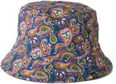 Pretty Green Reversible Paisley Print Bucket Hat
