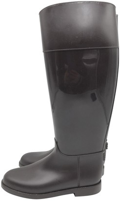 Givenchy Brown Rubber Boots