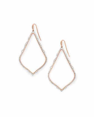 Kendra Scott Sophee Drop Earrings in White Diamond