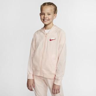 Nike Big Kids (Girls) Full-Zip Hoodie Sportswear