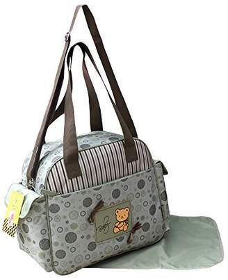BEIGE GMMH 2110 2-Piece Changing Bag Nappy Bag Baby Bag Choice of Colours