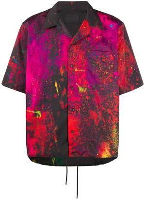 Diesel Black Gold Splatter-Print Shirt