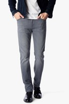 7 For All Mankind Foolproof Slimmy Slim With Clean Pocket In Wolf Grey