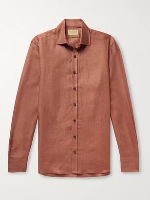 Purdey Linen-Twill Shirt