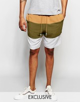 The New County Striped Shorts