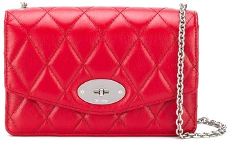 Mulberry Darley quilted small shoulder bag