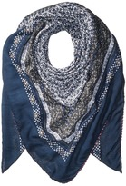 Michael Stars Little Ditsy Square Scarf Scarves