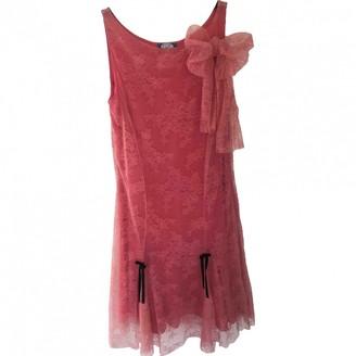 Blumarine Pink Lace Dress for Women
