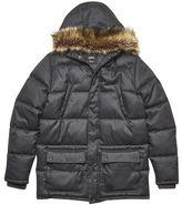 Burton Mens Grey Bridgedon Puffer Jacket