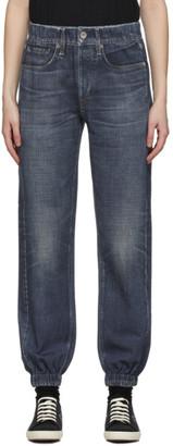Rag & Bone Indigo French Terry Miramar Jeans
