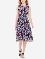 The Limited Printed Floral Midi Dress