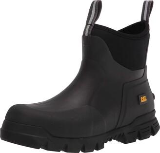 "Caterpillar Stormers 6"" Boot Black 8 8 Women/8 Men"