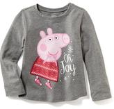 "Old Navy Nick Jr. Peppa Pig ""Oh Joy"" Tee for Toddler"