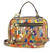 Milly Mini Splatter Paint Cork Satchel