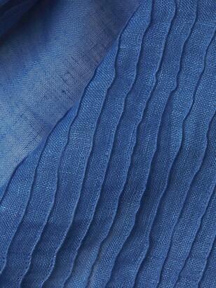 Eileen Fisher Organic Linen Pintucked Scarf