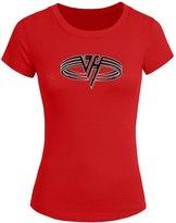 Van Halen Logo Tops T shirts Van Halen Logo For 2016 Womens Printed Short Sleeve tops t shirts