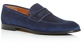 Bally Men's Webb Apron Toe Penny Loafers