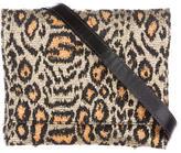 Rachel Comey Metallic Leopard Print Bag
