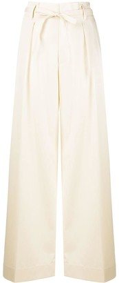 Forte Forte High-Waisted Pleated Trousers